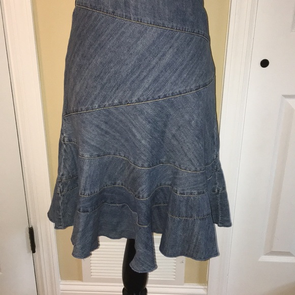 8fa8d5c313 Dkny Dresses & Skirts - DKNY 2 Petite Denim Skirt